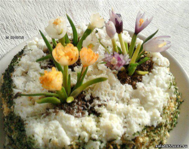 крокусы салат