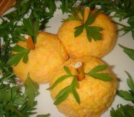 чесночные мандарины
